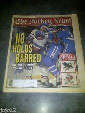 "The Hockey News 1994 ""NO HOLDS BARRED"" Gary Lee Chris Chelios  Brendan Shanahan"