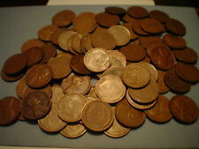 1 ROLL  WHEAT PENNIES  1909-1958  NO DUPLICATES  #BN620