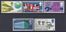 GB 1969 QEII ANNIVERSARIES SET OF 5 FINE MINT MNH/MUH SG791-SG795