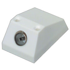 Single Outlet Surface Coaxial Screw F Type Wallbox Satellite Sky  Cable TV Modem