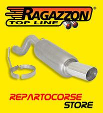 RAGAZZON TERMINALE SCARICO ROTONDO 90mm ALFA MITO 1.4 TB 155CV 09/2008 >> 2011