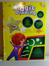 New listing Magic Drawing Board Fluorescent Light Retaining Painting Graffiti Board For Kids