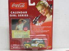 Ford Sedan Delivery 1940 grün/gold, OVP, Johnny Lightning Coca-Cola, 1:64