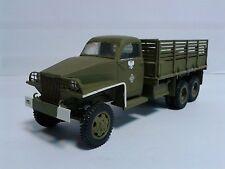 Vintage Studebaker US6 WWII Army Truck 1/35 ICM 35511 dark green