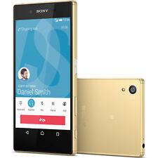 "Sony Ericsson XPERIA Z5 E6653 4G 23MP 32GB GPS NFC 5.2"" Débloqué Téléphone Or"