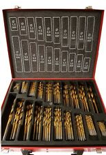 99pc Cobalt Drill Bit Set Hss-co / INOX HSS Metal - Designed for Stainless