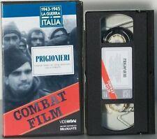 Combat Film Prigionieri VHS 1943-1945 La guerra in Italia
