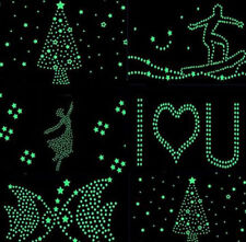 100pcs Wall Stickers Home Decor Glow In The Dark Star sticker Decal Kids Room IL