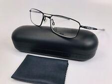 ✴ New Oakley OX3110-0152 Polished Black CASING Eyeglasses 52mm with Oakley Case