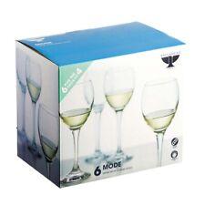 Ravenhead Mode White Wine Glasses 24cl Set of 6 For 4 NEW