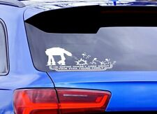 The Empire Doesn't Care About Stick Figure Family Vinyl Sticker 220 x 950 mm AT