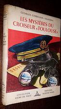 """LES MYSTERES DU CROISEUR """"TOULOUSE"""" - Coll. Signe de Piste - Ill. Arnstam"""