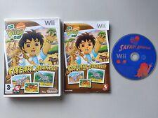 Go Diego Go; Safari Avontuur / rescue - Nintendo Wii - complete in box (CIB)