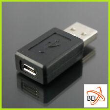 MicroUSB Adapter Micro USB-B Buchse auf USB 2.0 A Konverter  Stecker Kabel