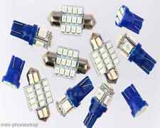 11PCS Blue LED Lights T10 31mm Map Dome For Pontiac Oldsmobile Interior Package