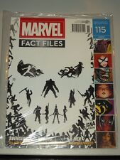 MARVEL FACT FILES #115 EAGLEMOSS UK MAGAZINE AVENGERS X-MEN THANOS DEADPOOL