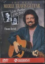 The Real Merle Travis Guitar Learn How to Play Tuition DVD Like Father Like Son