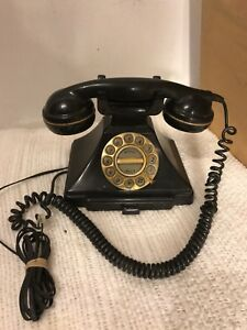 """Desk Phone Vintage Microtel Corp 8""""X6"""" Untested See12Pix4Detail/size. MAKE OFFER"""