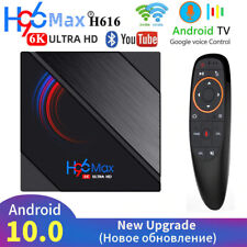 H96 Max Tv Box Android 10.0 2.4G5G WiFi  Media Player 4GB 32GB 64GB 6K HD 2.