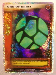 Yu Yu Hakusho TCG CCG Orb of Baast TG23/22 Spirit Pack 1 Ghost Rare Card
