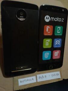 TELEPHONE PORTABLE FACTICE dummy smartphone N°B17-B3 : MOTOROLA moto z noir