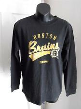 NEW-Mended- Boston Bruins Youth M Medium (size 10/12) Black Shirt by Reebok