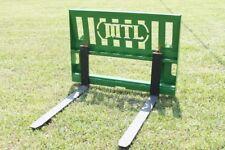 """MTL Attachments 42"""" Pallet Forks 3500 lb fits John Deere Tractor Loader"""