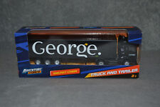 New Adventure Force George (Asda) Model Truck Lorry Scale 1:87 Diecast Car Box
