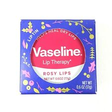 Vaseline Lip Therapy Rosy Lips Lip Balm Tin Original 0.6oz