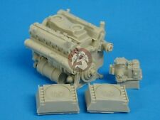 Tank Workshop 1/35 Maybach HL 230 P30 Panther Tank Engine w/Air Cleaners 353008