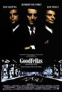 Goodfellas (1990) MOVIE POSTER |5 Sizes| Gangster Mafia Scorsese dvd bluray