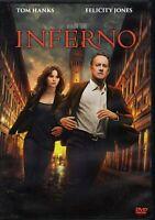 Inferno (2016) Ron Howard - Tom Hanks - DVD nuovo sigillato editoriale