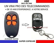 TELECOMMANDE SUPER COPIEUSE AVIDSEN 104700 104505 504706 610955 100601 654250...