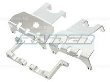 Alloy Aluminum Skid Plate for Axial Wraith Complete Axle 90018 90020 90031SILVER