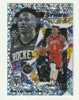 2019-20 Panini Mosaic Prizm Silver Fast Break Stare Masters Russell Westbrook SP