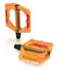 XLC Freestyle Pedal orange Plattform PD-M16 Polycarbonat Fahrrad BMX NEU