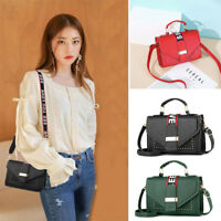 Women Lady Crossbody Leather Shoulder Bag Tote Purse Handbags Messenger Satchel