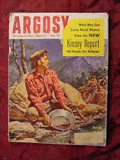 ARGOSY September 1953 Sept Sep 53 Kinsey Report Sex Women Gold B-52 Sea Turtles