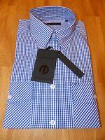 Neues Jack & Jones Premium Langarm Hemd Gr S Businesshemd Freizeithemd Weiß/Blau