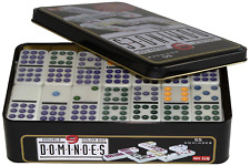 Weible Toys & Games 250102-Double 9Dominoes in Metal Tin