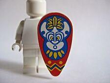Lego ISLANDERS SHIELD Vintage -Ovoid- from 6262 6236 6256 6264 6292 6278 6246