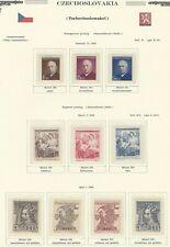 1948 Year Set, Mi. 529 - 561, MNH, Postfrisch **, (34 items)