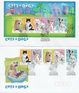 2004 Cats and Dogs FDC