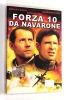 FORZA 10 DA NAVARONE DVD Columbia 1978 Guerra Harrison Ford RARO SIGILLATO