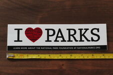 I HEART PARKS STICKER Decal National Parks NEW LOVE