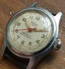 VINTAGE piccole dimensioni Seconda Guerra Mondiale Militare Swiss SULLY Orologio (ROBOT Watch Co) 17 gioielli!