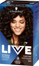 Schwarzkopf Live Intense Colour Permanent Hair Dye - Tempting Chocolate 880