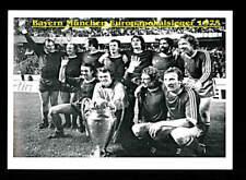 FC Bayern München Mannschaftskarte Europapokal-Sieger 1975 TOP