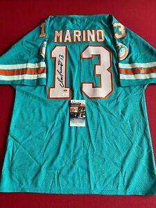 "Dan Marino, ""Autographed"" (JSA) Teal Jersey (Scarce / Vintage) Dolphins"