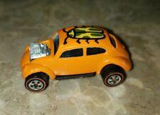 VINTAGE HOT WHEELS 1967 VW Redline Orange Bug Custom Volkswagen